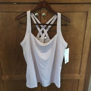 NWT Lilac Lucy, The North Face fitness fix tank